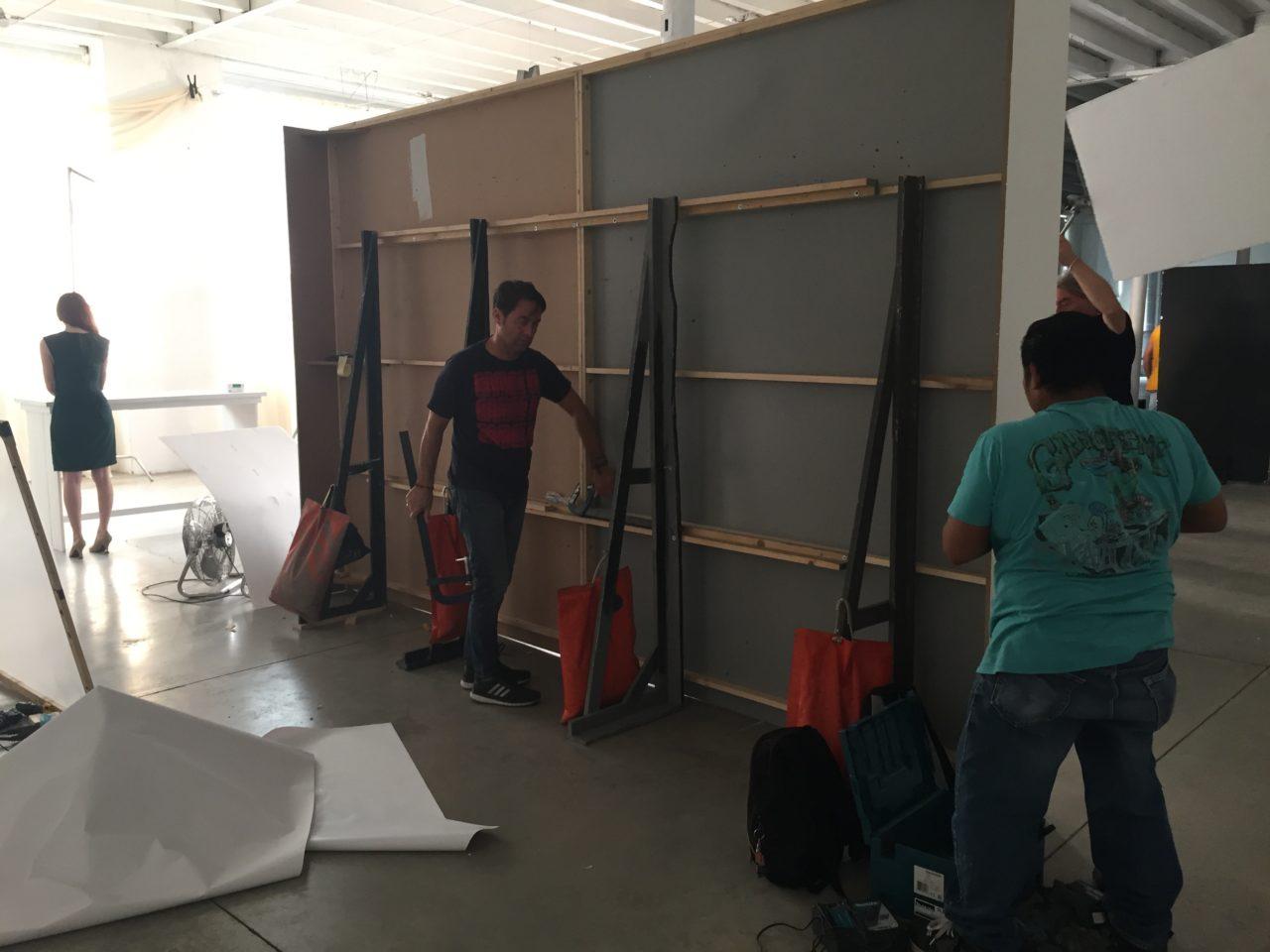backstage Winkler+Noah